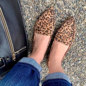 Shoes - Leopard loafer shoes